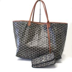 Goyard Grand St. Louis Gm Large Black Tote Bag. Get one of the hottest 4becd05584814
