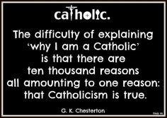 - G.K. Chesterton. The true religion started by Jesus Christ Himself. Now how can you deny that? I can't <3