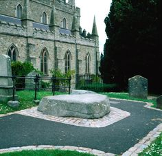 It is believed the Ireland's Patron Saint, Saint Patrick's final resting place is at Down Cathedral.