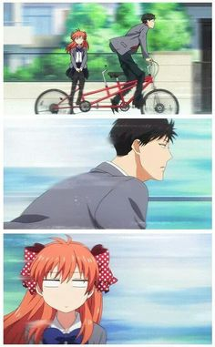 Gekkan Shoujo Nozaki-kun Just started this anime awww its so funny XD