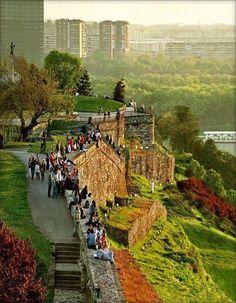 Fortaleza de Kalemegdan en Belgrado