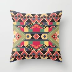 B / O / L / D Throw Pillow