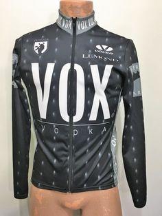 Voler Mens S Vox Vodka Gray Long-Sleeve Bike Jersey Full Zip Lemond Ochsner  USA  Voler ef9a2b9f2