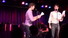 "Adam Kaplan and Mike Faist performing ""Anything You Can Do."" THIS IS SO BEAUTIFUL EMMA EMMA WATCH THIS"