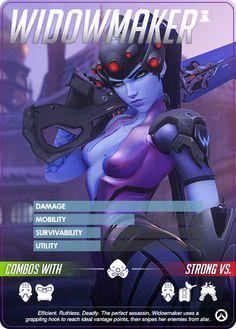 Overwatch - Widowmaker Hero Profile