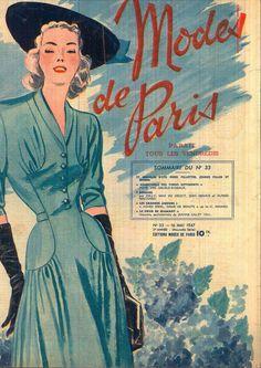 MODES DE PARIS N°33 16 MAI 1947