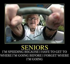so funny ... this is me 'now'!! wonder what it will be like when i 'am' a senior!!!