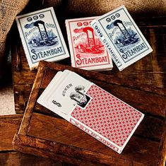 Playing Cards - Steamboat 999