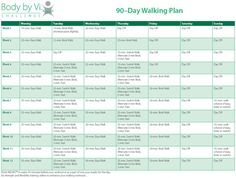 90 Day Workout Plan Best Of 9 90 Day Workout Plan Examples Pdf 90 Day Workout Plan, Workout Plans, Magic Bullet Recipes, Weight Watcher Smoothies, Walking Plan, Body By Vi, Walking Exercise, Lesson Plan Templates, Behavior Management