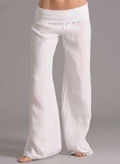 Yoga-Clothing.com - Linen Rolldown Pant | sewing projects ...