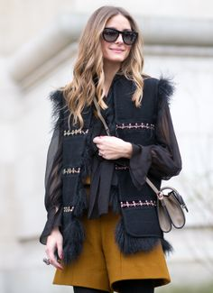 luckymag:  PFW Street Style Day 5»