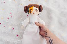Leia Rebel rebel Handmade doll girl doll Cloth doll Hand