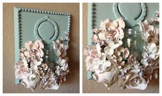 How to plaster dip flowers
