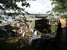 houseboats pin mill