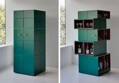Unfolding Cubrick Cabinet Salutes Collaborative Design - http://www.interiorredesignseminar.com/interior-design-inspirations/unfolding-cubrick-cabinet-salutes-collaborative-design/