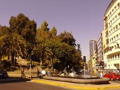 Calles de Santiago,Chile www.chileandtravel.net