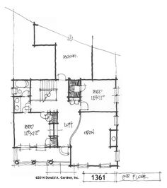 charleston style house plan on the drawing board #1361