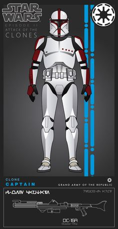 """""""Appo"""" Grand Army of the Republic Legion Blaster Star Wars -Episode III: Revenge of The Sith- TM & © Lucasfi. Star Wars Clone Wars, Star Wars Art, Images Star Wars, Star Wars Pictures, Star Wars Characters, Star Wars Episodes, Stormtroopers, Guerra Dos Clones, Blaster Star Wars"""