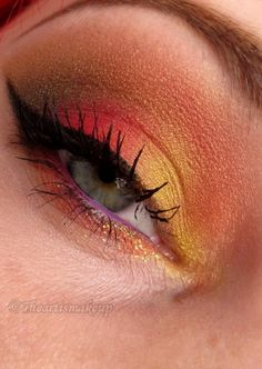 Up in flames by Marjolein on Makeup Geek