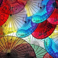 Night Umbrellas 우산