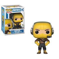 This is a Fortnite POP Raptor Vinyl Figure made by the good people over at Funko. This figure looks great in its Funko POP version! Recommended Age: 3 Condition: Brand New and Sealed Dimensions: X Funko Fortnite POP Raptor Vinyl Figure. Funko Pop Figures, Pop Vinyl Figures, Zombies, Toy Pop, Epic Fortnite, Hit Games, Nintendo, Funko Toys, Battle Royale