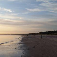 Im Oktober war es noch warm am Meer, nun wird es deutlich frischer. #herbst
