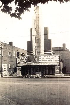 HIWAY THEATER - 700 block of W. Market St. York, PA - Spent many Saturday's here watching movies. That was when there was a newsreel, cartoon and the main feature! Love the bikes outside, that is how it usually was.