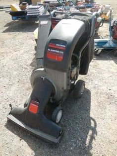 FOR ONLINE AUCTION Wednesday, April 17th ARA of Michigan Auction Repocast.com Craftsman Shred Vac, 5.5 HP, with Bagger, Self-Propelled, Runs Auction is open to the public! For more information, call Repocast 866-550-7376 or visit Repocast.com Used Construction Equipment, Garden Equipment, Lawn And Garden, Craftsman, Wednesday, Michigan, Auction, Public, Home Appliances