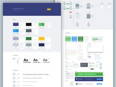 UI Style Guide I worked on a few months ago to keep the visual consistency. Check out the full view here.