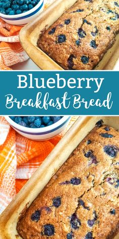 Blueberry Bread Reci