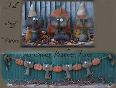 Primitive Halloween swag