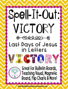 Spell-It-Out Victory! This includes a matching Flap book!