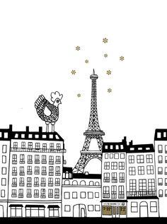 La Cocotte in love with Paris