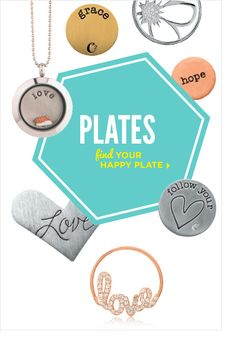 Origami Owl | Find your Happy Plate! |Spring 2014 | Available NOW!  www.ephotography.origamiowl.com