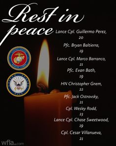 REST IN PEACE: The U.S. Marine Corps has identified all nine people killed when a Marine landing craft sank in hundreds of feet of water off the Southern California coast. California Coast, Southern California, Landing Craft, Sink In, Rest In Peace, Marine Corps, Wesley Chapel, Forget You, The Unit