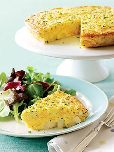 Serve this potato, egg, and cheese casserole with slices of ham or bacon at brunch.