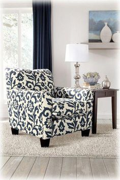 Adorable Accent Chair To Go With Keendre Sofa Loveseat Or Just Add A Fun Pattern