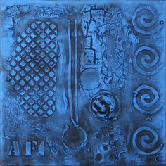 Antal Fulop  - City streets IV.  canvas,  30x30cm