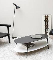 Resultado de imagen para mesas centro ovalada