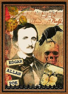 Poe - altered art - nice! #famfinder