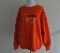 TENNESSEE UNIVERSITY VOLS COLLEGE SWEATER PULLOVER WOMENS JACKET XXL #Collegesweater #tennessee #Tennesseevols #vols