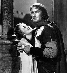 Olivia de Havilland and Errol Flynn-Robin Hood| Hollywood| Robin Hood & His Merry Men| Sherwood Forest| Serafini Amelia