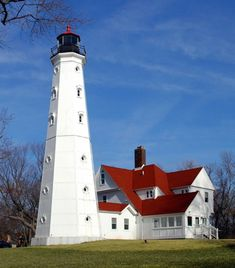 Great Lakes Lighthouses | north point light milwaukee march 2009 flickr creative commons photo ...