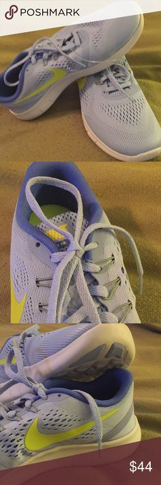 NWT Nike Free Run Light Blue Sneakers NWT Nike Free Runs. Light blue with neon green swoosh. Size 6.5. Breathable with medium toe box. Awesome for running, cross training or just relaxing with jeans or sweats! Nike Shoes Athletic Shoes