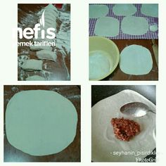 Ev Yapımı Lahmacun – Nefis Yemek Tarifleri Brownie Cookies, Food And Drink, Tableware, Pizza, Dinnerware, Tablewares, Dishes, Place Settings