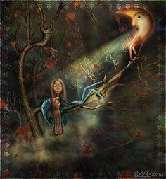 Kai Fine Art is an art website, shows painting and illustration works all over the world. Sun Moon Stars, Sun And Stars, Art And Illustration, Stock Foto, Art Journal Inspiration, Whimsical Art, Surreal Art, Art Design, Figurative Art