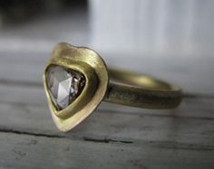 gold diamond artisan jewelry on Etsy, a global handmade and vintage marketplace.