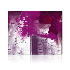 Artwork 'Violet Substance' features print of Purple Abstract. Unique Paint with vivid hues make this Modern style the perfect decor for your home or office. Oliver Gal was voted Best in Wall Art! Canvas Art Prints, Painting Prints, Canvas Wall Art, Fine Art Prints, Paintings, Oliver Gal Art, Thing 1, Modern Wall Decor, Abstract Wall Art