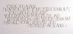 Thank You - Alice Walker  by John Stevens