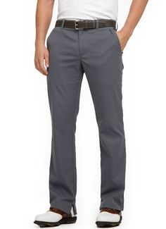 This pants are supposedly not only fancy but comfy as well.I will have to find out one of these days. Mens Clothing Styles, Clothing Items, Gold Pants, Man Stuff, Play Golf, Mens Golf, Fancy Pants, Golf Outfit, Work Clothes